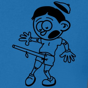 pinocchio is confused today :-) T-Shirts - Men's V-Neck T-Shirt
