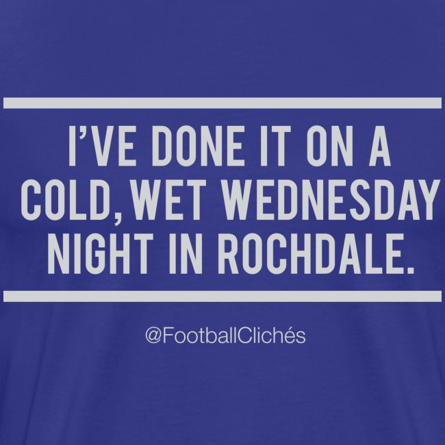 Cold, Wet Wednesday in Rochdale