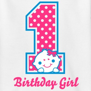 Ein Jahr - One Year - Birthday Girl T-Shirts - Kinder T-Shirt