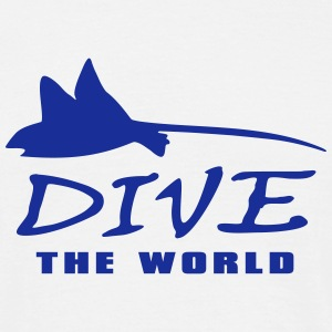 dive the world Taucher Shirt T-Shirts - Männer T-Shirt