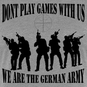 dont_play_games_with_us__bw T-Shirts - Frauen Premium T-Shirt