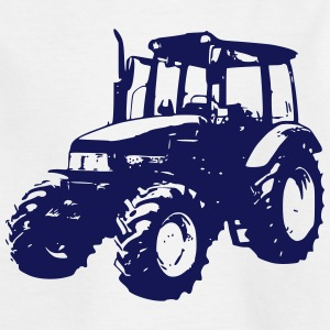 Kinder T-Shirt Trecker, Traktor, Schlepper - Kinder T-Shirt