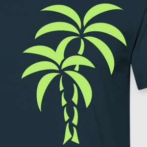 Palm Tree / Tattoo Style / Vector / T-shirt - Maglietta da uomo