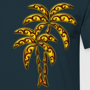 Palm Tree / Tattoo Style / DD / T-shirt - Maglietta da uomo