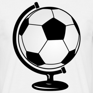Football globe  T-Shirts - Men's T-Shirt