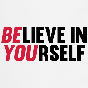 Believe in Yourself Kookschorten - Keukenschort