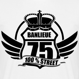 BANLIEUE 75 Tee shirts - T-shirt Homme