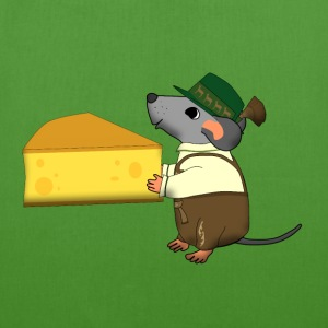 bavarian mouse with cheese Borse & zaini - Borsa ecologica in tessuto