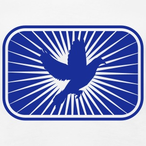 Peace Dove T-shirts - Vrouwen Premium T-shirt
