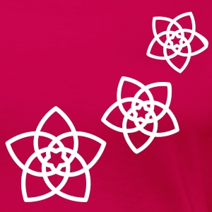 Venus flowers Vector - FLOWER OF LOVE, (2), symbol of love, balance and beauty T-shirts - Premium-T-shirt dam