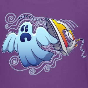 Ghost Ironing Nightmare Shirts - Teenage Premium T-Shirt