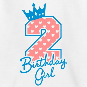 Zweiter Geburtstag-Second Birthday-Birthday Girl T-Shirts - Kinder T-Shirt