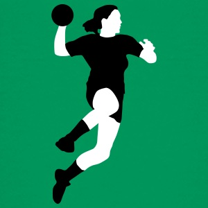 handball_spielerin_2c T-Shirts - Teenager Premium T-Shirt