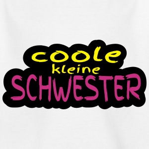 coole_kleine_schwester T-Shirts - Teenager T-Shirt