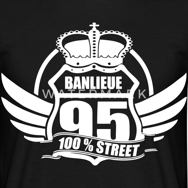 BANLIEUE 95 Tee shirts - T-shirt Homme