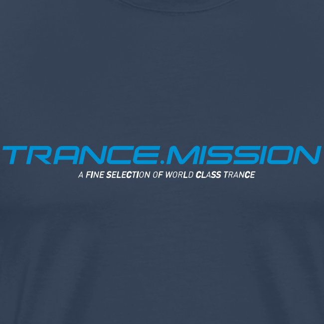 Trance.Mission (m) normal shirt (navy)