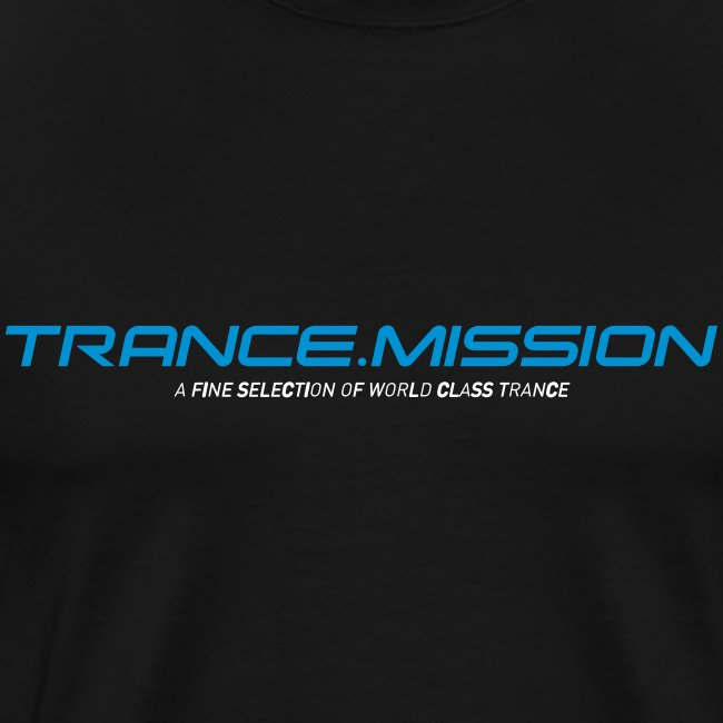 Trance.Mission (m) normal shirt (black)