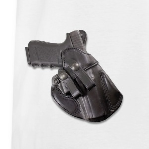 Holstered pistol on back Shirts - Kids' T-Shirt