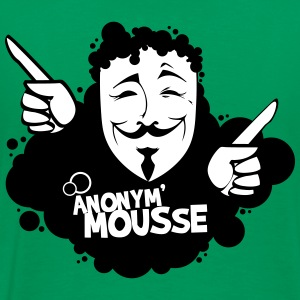 anonym_mousse2 Tee shirts - T-shirt Premium Homme