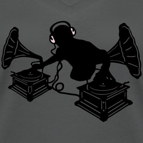 Musik Grammophon  - Retro DJ & Vinyl  Kopfhörer