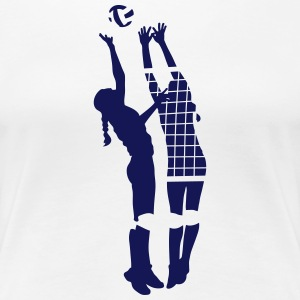 volley-ball Tee shirts - T-shirt Premium Femme