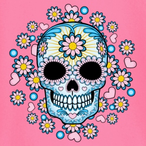 Colorful Sugar Skull Kids & Babies - Baby Long Sleeve T-Shirt