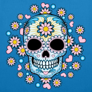 Colorful Sugar Skull Bags & backpacks - EarthPositive Tote Bag