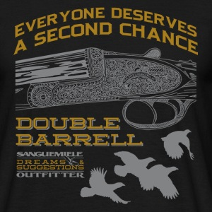 double_barrel_double_chance T-Shirts - Men's T-Shirt