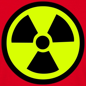Radiation Warning T-Shirts - Men's T-Shirt