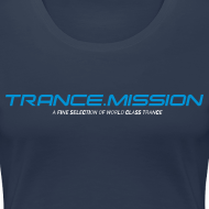 Motiv ~ Trance.Mission (w) normal shirt (navy)
