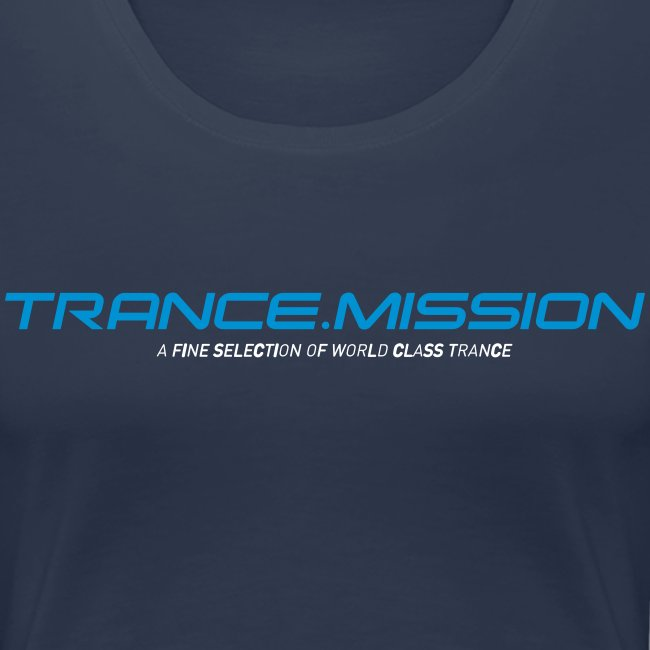 Trance.Mission (w) normal shirt (navy)
