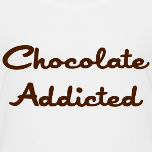 Chocolate Addicted Tee shirts - T-shirt Premium Enfant