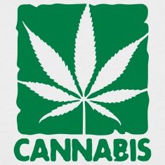 cannabis leaf boxed Tee shirts
