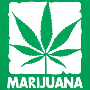 marijuana in boxed Tee shirts - T-shirt contraste Femme