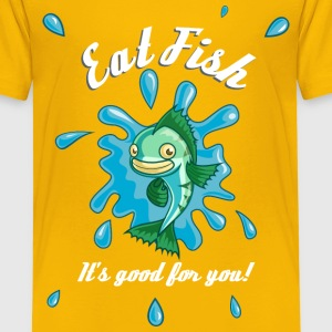 Eat Fish Shirts - Kids' Premium T-Shirt