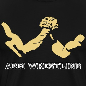 arm wrestling T-Shirts - Men's Premium T-Shirt