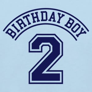 Light blue Birthday boy 2 years Kids' Shirts - Kids' Organic T-shirt