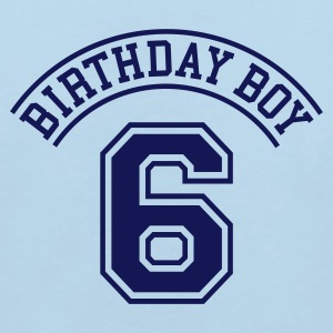 Light blue Birthday boy 6 years Kids' Shirts - Kids' Organic T-shirt