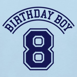 Light blue Birthday boy 8 years Kids' Shirts - Kids' Organic T-shirt