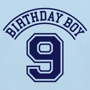 Light blue Birthday boy 9 years Kids' Shirts - Kids' Organic T-shirt