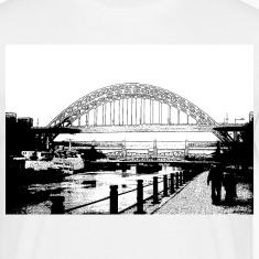 White tynebridge Men's Tees