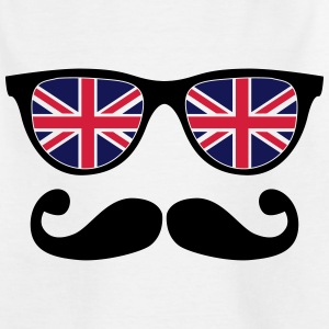 english mustache glasses nerd - like a sir Shirts - Teenage T-shirt
