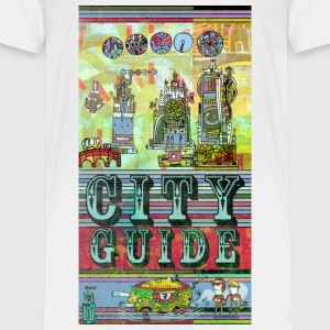 city-guide I T-Shirt Shirts - Teenage Premium T-Shirt