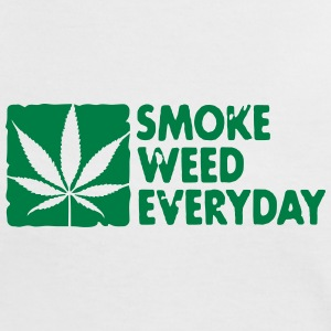 smoke weed everyday boxed T-Shirts - Women's Ringer T-Shirt