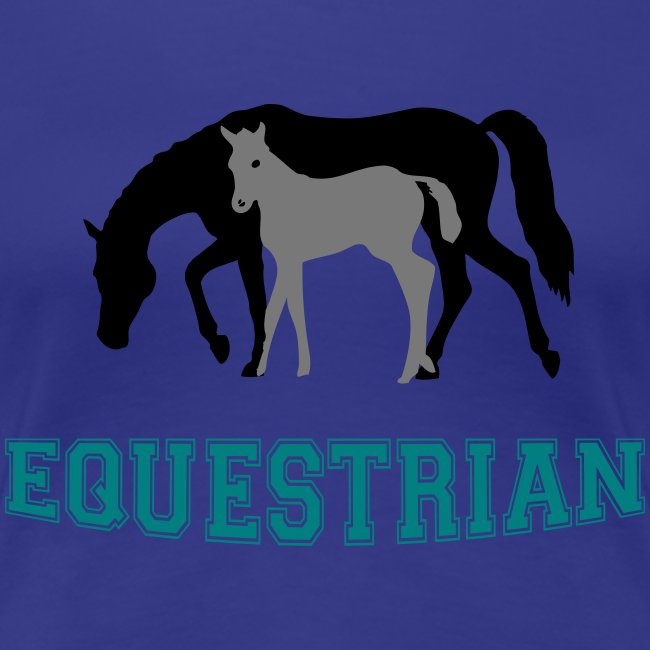 Mare and Foal Equestrian T-Shirt