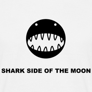 Shark side of the moon s - T-shirt Homme