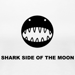 Shark side of the moon T-Shirts - Women's Premium T-Shirt