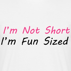I'm Not Short T-skjorter - T-skjorte for menn