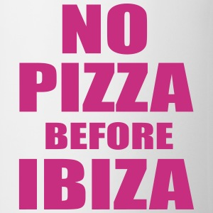 No Pizza Before Ibiza Flaskor & muggar - Mugg