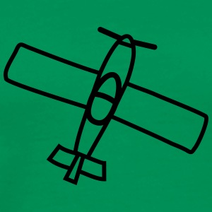 Small Airplane T-Shirts - Men's Premium T-Shirt